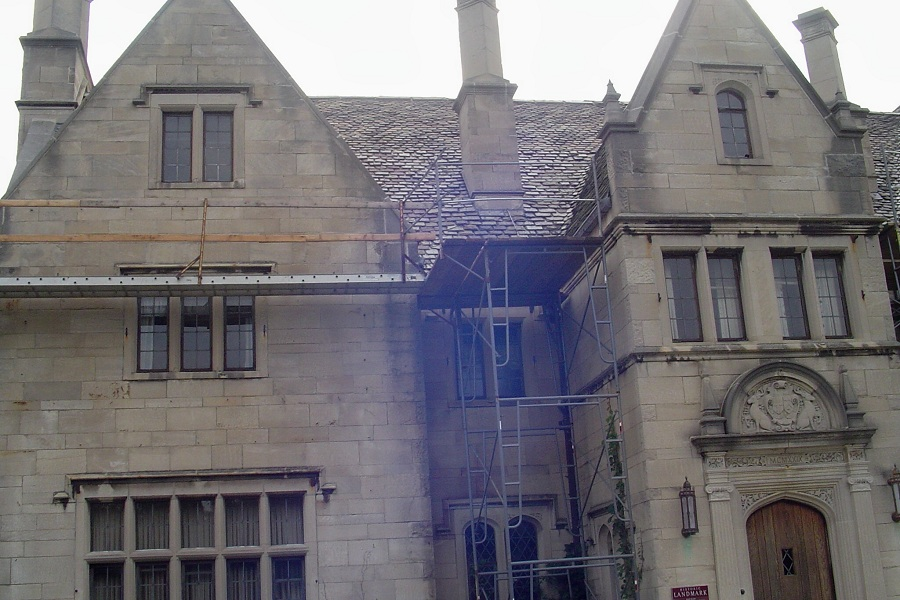 Hartwood Mansion roof restoration - Pittsburgh, PA